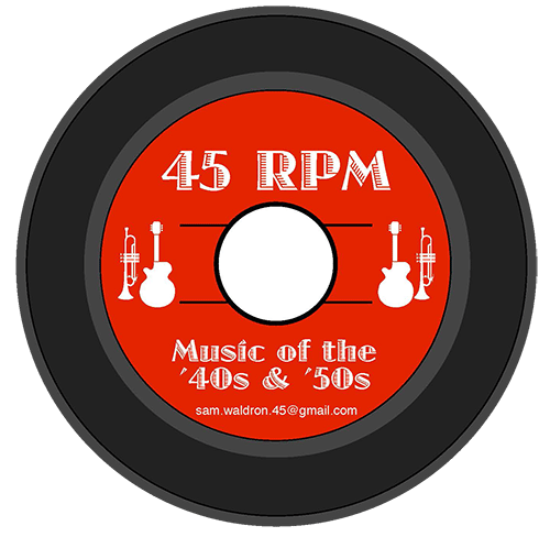 45rpm Music From 40s And 50s Paul Merriman